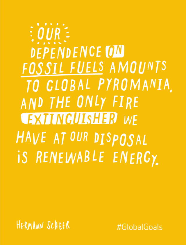 Modern Energy Hermann Scheer Quote