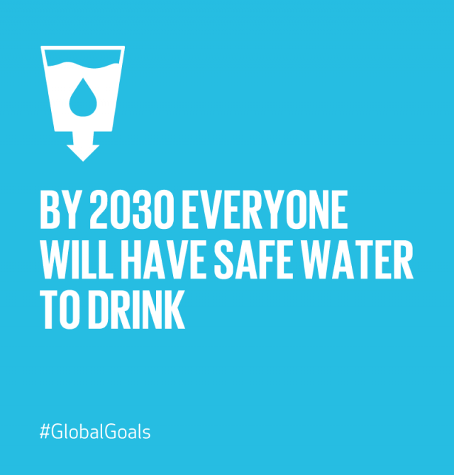 Clean Water and Sanitation 2030 Quote