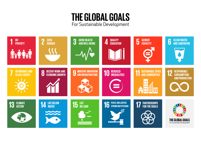 Global Goals Icon Grid