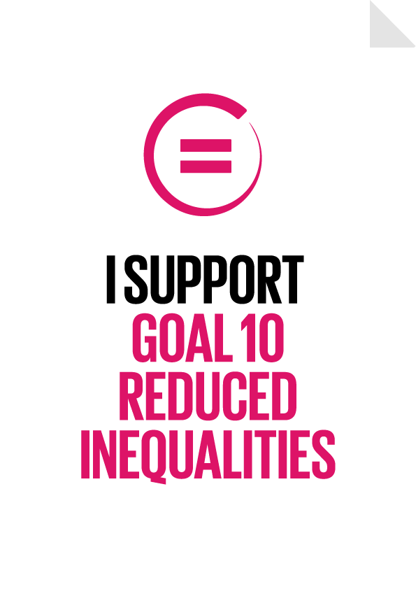 Goal 10 - Reduced Inequalities Poster