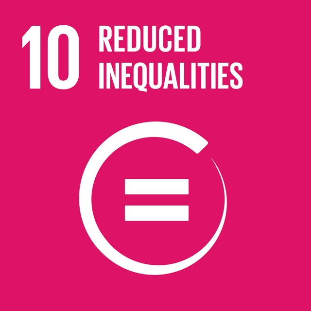 Global Goals Goal 10 Reduced inequalities